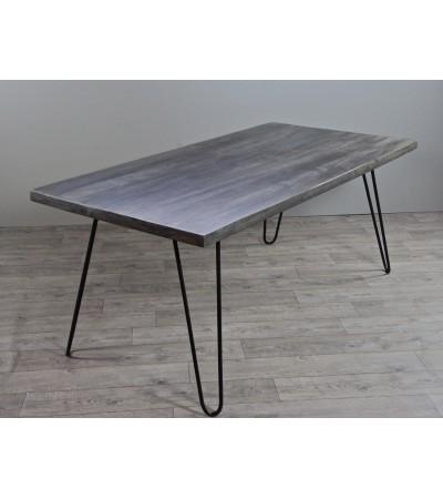 """Table de Repas style Vintage """"Sixtees"""", 220 cm"""