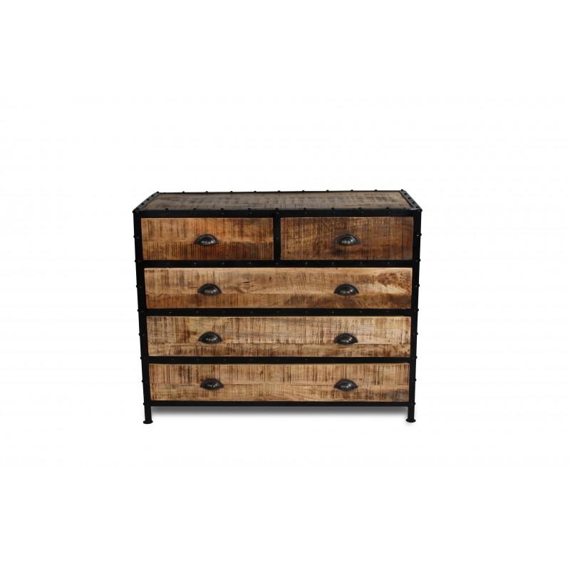 industrie kommode simple industrial style mobel. Black Bedroom Furniture Sets. Home Design Ideas
