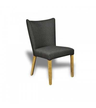 """Chaise """"Lipari"""" tissu gris"""