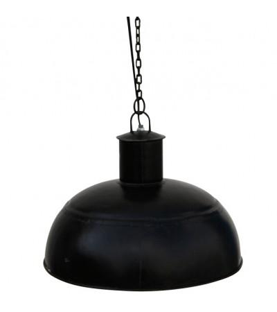 Suspension design industriel métal noir