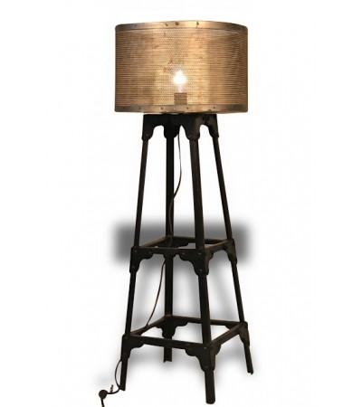 Antik Metall Leuchte Industriel Stil