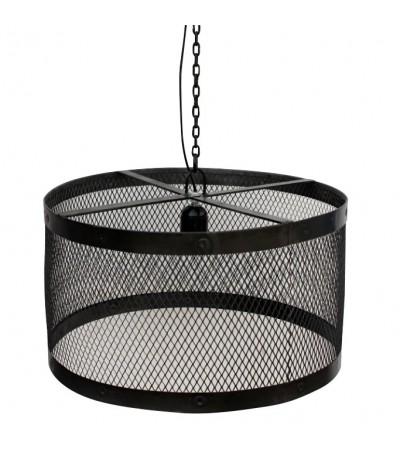 """Hängeleuchte """"Lumière en Cage"""" Industriel Stil in Antik Metall"""