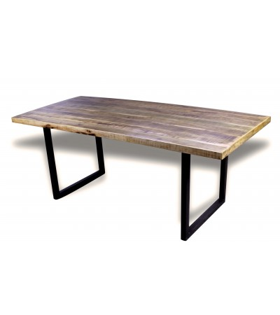 "Table de Repas industriel ""Denver"" 200 cm"