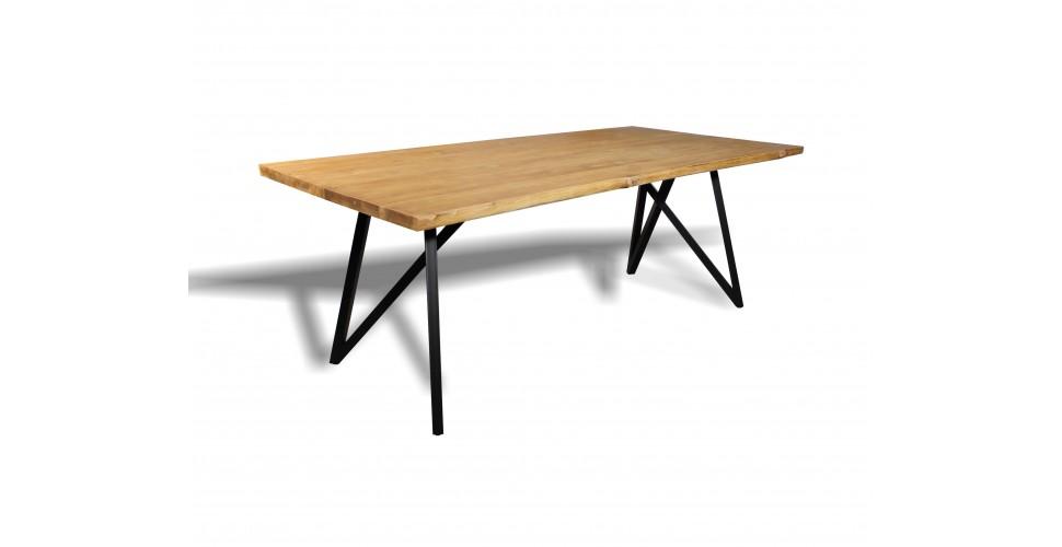 """Table de Repas """"Sulawesi"""" bois de teck recyclé, 210 cm"""
