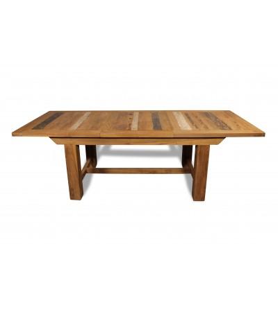 """Table à manger extensible """"Bornéo"""" teck recyclé, 180-250 cm"""