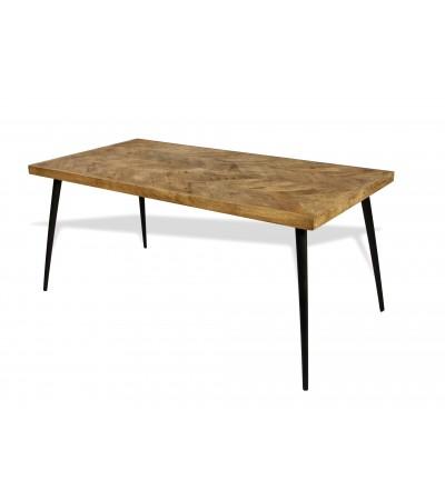 "Table de Repas vintage ""Jodhpur"", 180 cm"