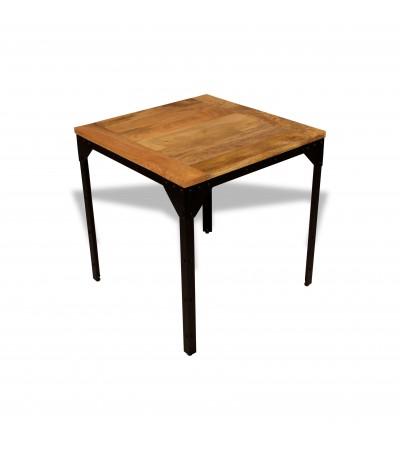 """Table de Repas """"Rivets"""" style industriel, 75 cm"""