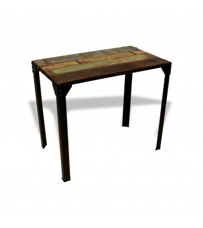 """Table Haute de Repas """"Rivets"""" 140 cm"""