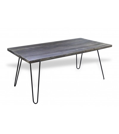 "Table de Repas vintage ""Sixtees"" 220 cm"
