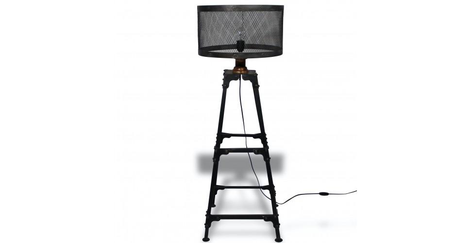 Lampe style industriel métal antique