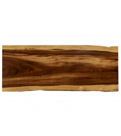 """Table à manger """"Makassar"""" en bois exotique de Suar massif, 210 cm"""