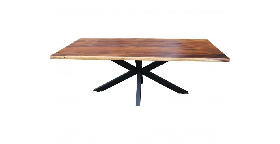 """Table """"Cassiopée"""" bois naturel, 200 cm"""