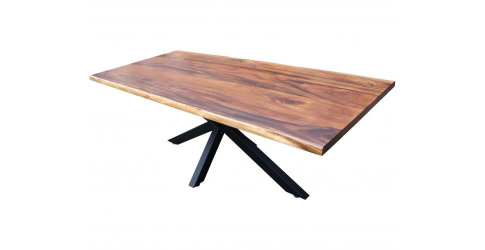 "Table ""Cosmos"" bois de Suar massif, 230 cm"