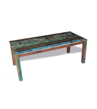 """Table de Repas """"Manoir"""" bois massif recyclé, 200 cm, la dernière !"""
