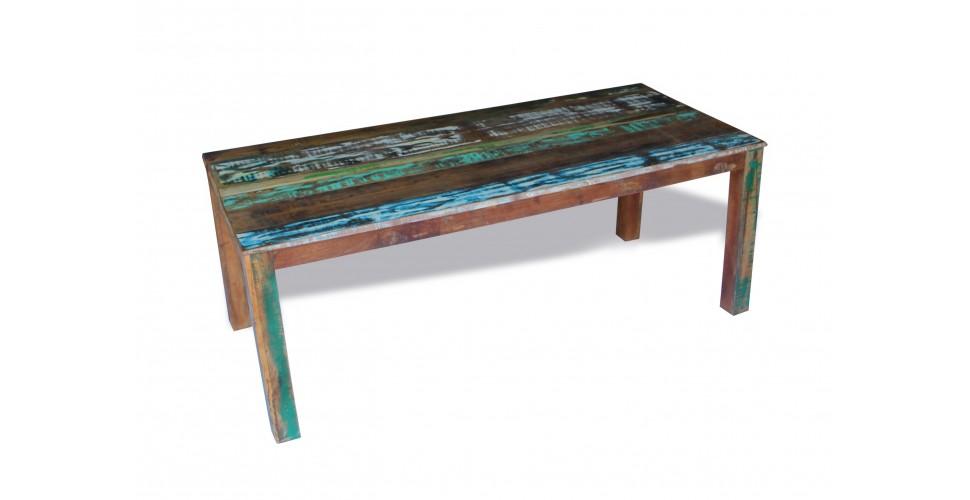 """Table de Repas """"Manoir"""" bois recyclé 200 cm"""