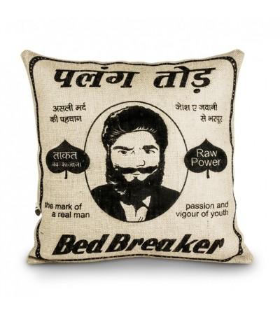 "Vintage Kissen ""Bed Breaker"""