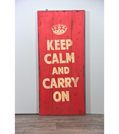 "Tableau ""Keep Calm and Carry On"""