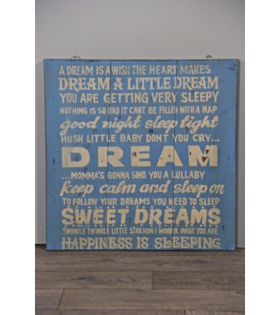 "Tableau ""Dream"" design Industriel"